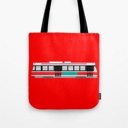 Toronto TTC Streetcar Tote Bag