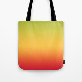 Tropical Colorful Gradient Pattern Tote Bag