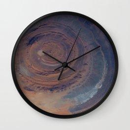 eye in the sky, eye in the desert | space #01 Wall Clock