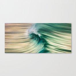 Wave Art 1 Canvas Print