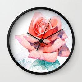 Rose 1 Wall Clock
