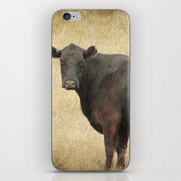 Vintage Cow iPhone Skin