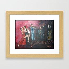 Ballroom Café Framed Art Print