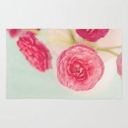 Flowers really do intoxicate me. Vita Sackville-West Rug