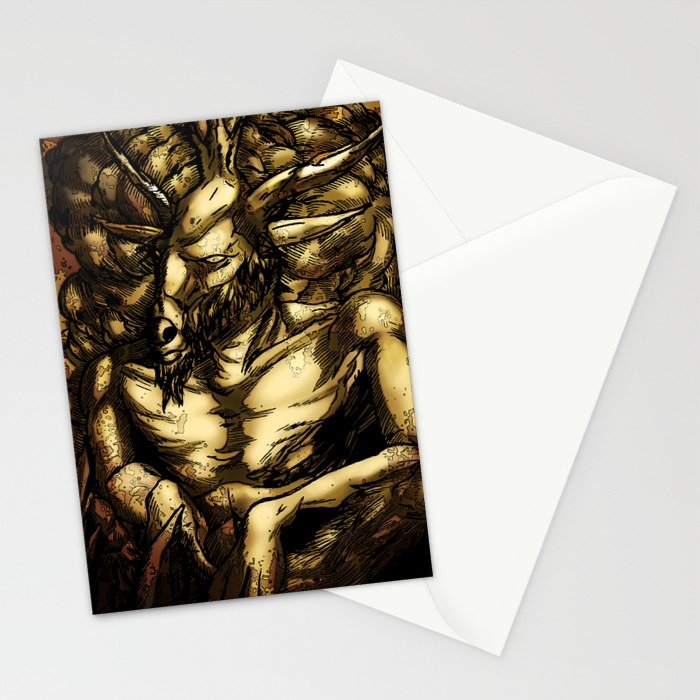 HORNED GOD Stationery Cards