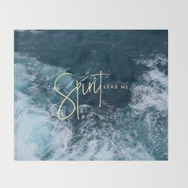 Spirit Lead Me Throw Blanket