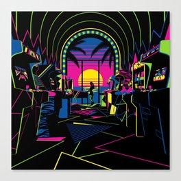 Arcade Saloon Canvas Print