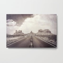 Road to the Giants Metal Print