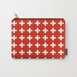 flag of switzerland 2-Switzerland, Alps,swiss,Schweizer,suisse,zurich,bern,geneva Carry-All Pouch
