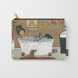 Wieners in the Tub Carry-All Pouch