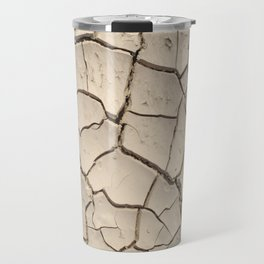 cracked land Travel Mug