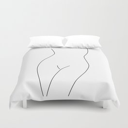 Simple Nude Duvet Cover