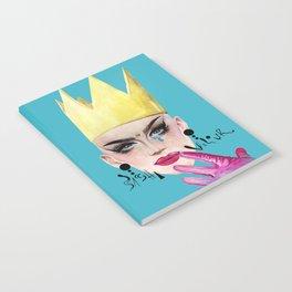 Queen Velour Notebook