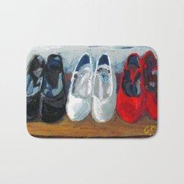 Zapatos de Flamenca Bath Mat