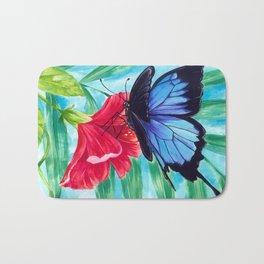 Ulysses Butterfly Bath Mat
