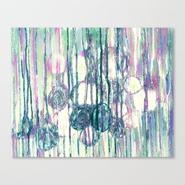 Dripping Daisies Canvas Print