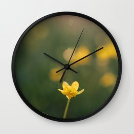 Flowers: III // Oregon Wall Clock