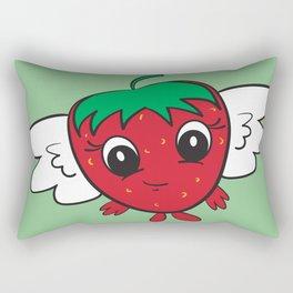 FlyBerry Kiddo Green Rectangular Pillow