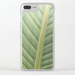 Fine Lines Clear iPhone Case