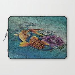 Golden Koi Laptop Sleeve