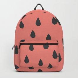 Summer Watermelon seed pattern Backpack