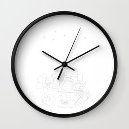 dream house Wall Clock