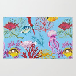 Coral Reef - All Together Water Rug