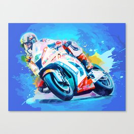 Superbike Racing Canvas Print