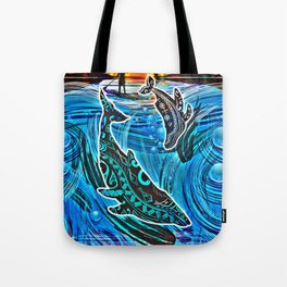 Whales Tale Tote Bag