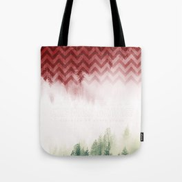 Twin Peaks: Fire Walk With Me Tote Bag