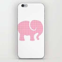 Pink Elephants iPhone Skin