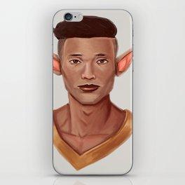 Chad, the Karate Elf iPhone Skin