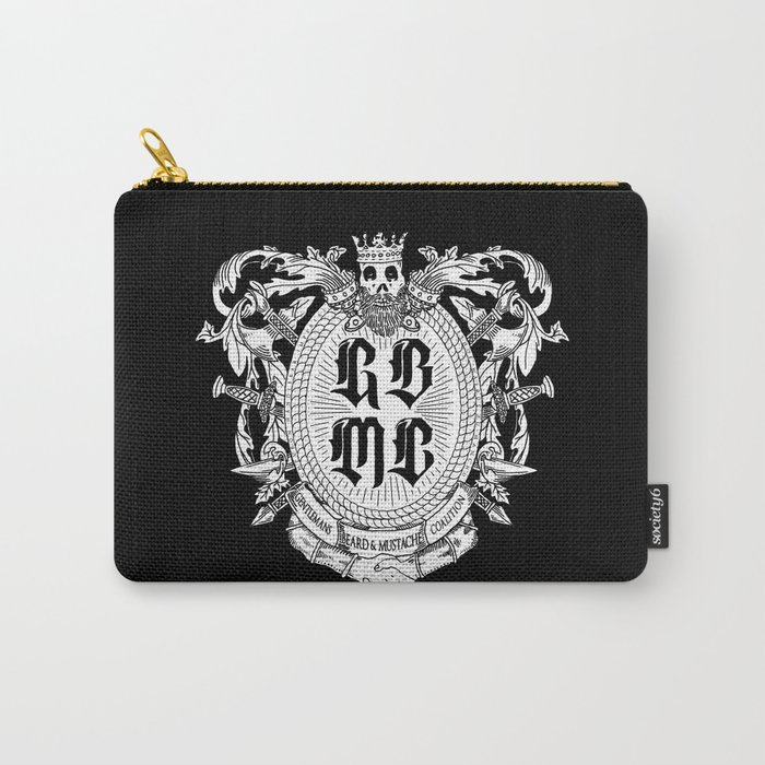 GBMC - The Gentlemans Beard and Mustache Coalition Carry-All Pouch