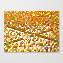 Love Lock Canvas Print