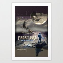 Persona - Mayday We Crashed Art Print