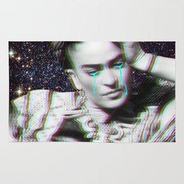 Frida in Space Rug