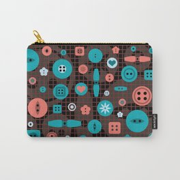 button it Carry-All Pouch
