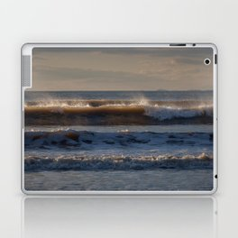 Surf at Rhossili Bay Laptop & iPad Skin