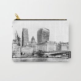 City of London Art Panorama Carry-All Pouch