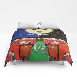 Matryoshka with Sparkling Water Comforters
