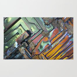 Colorful Geometric Shapes Rug