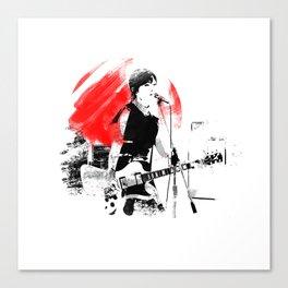 Japanese Artist Canvas Print