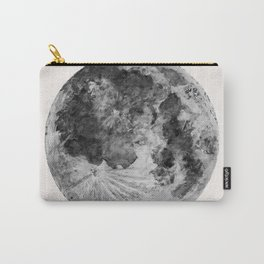 Watercolour Moon (Canvas) Carry-All Pouch