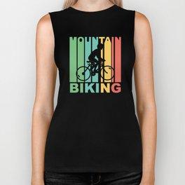 Vintage 1970's Style Mountain Biking Graphic Biker Tank