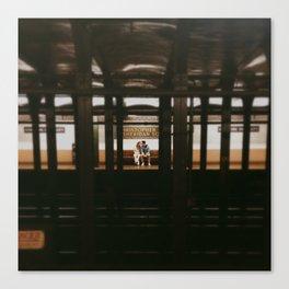 New York Subway Station: Christopher Street Sheridan Square Canvas Print