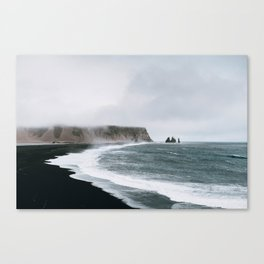 Coast / Iceland Canvas Print