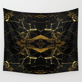 Black & Gold Wall Tapestry