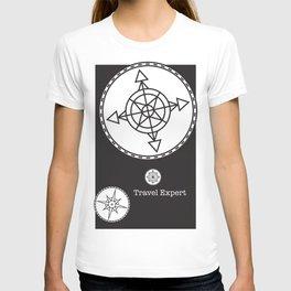 Travel Expert: Black T-shirt