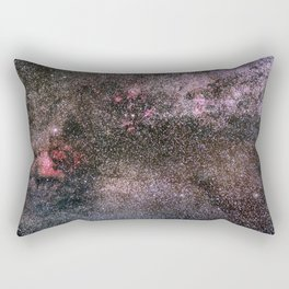 North America Nebula, the center of the Milky Way. Cysnus Constelation Rectangular Pillow