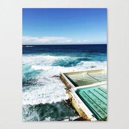 Bondi Beach Icebergs, Sydney Canvas Print